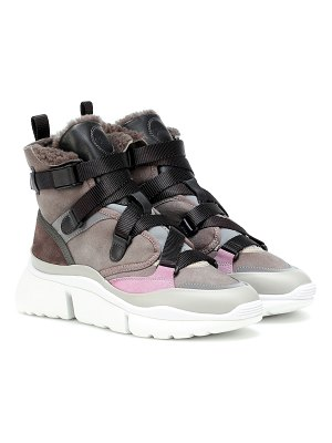 Chloe exclusive to mytheresa – sonnie high-top sneakers