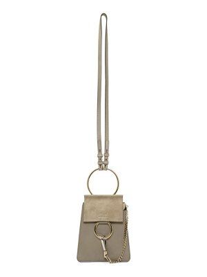 Chloe grey faye bracelet bag