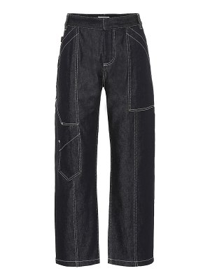 Chloe high-rise cropped jeans