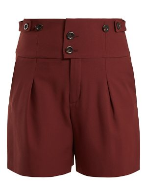 Chloe High Waist Double Button Shorts