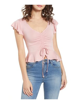 Chloe & Katie cinch front top