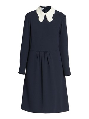 Chloe lace collar shift dress