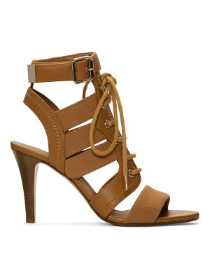 Chloe Lace-up Heeled Sandals