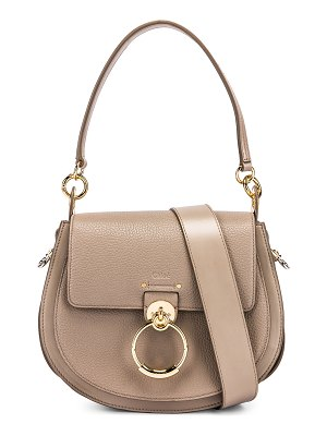 Chloe large tess grained leather bag