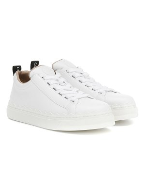 Chloe lauren leather sneakers