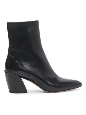 Chloe laurena leather ankle boots