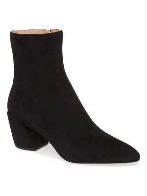 Chloe laurena scallop pointy toe bootie