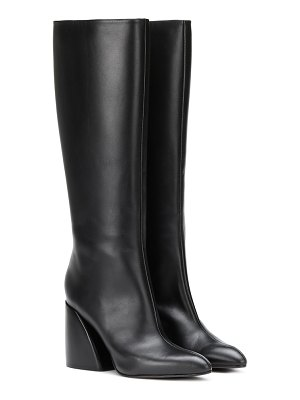 Chloe leather knee-high boots