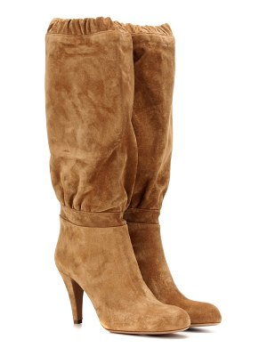 Chloe Lena suede knee-high boots