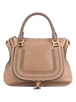 Chloe marcie large leather tote