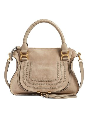 Chloe 'medium marcie' suede satchel