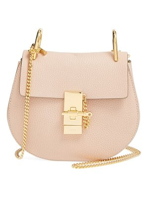 Chloe 'mini drew' leather shoulder bag