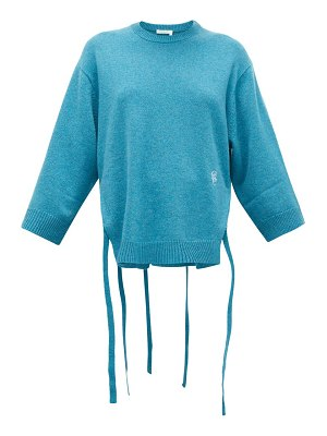 Chloe iconic monogram-embroidered cashmere sweater