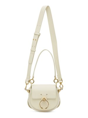 Chloe off-white small tess bag