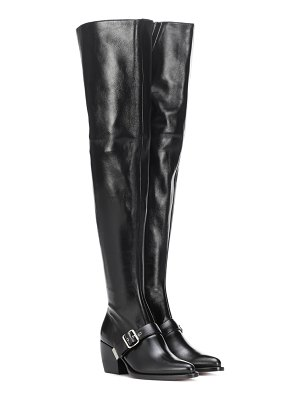 Chloe over-the-knee leather boots