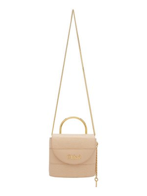 Chloe pink small aby lock chain bag