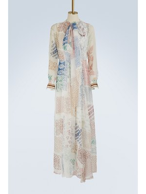Chloe Printed silk maxi dress
