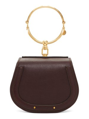 Chloe purple small nile bracelet bag