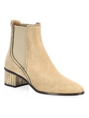 Chloe qassie suede chelsea boots