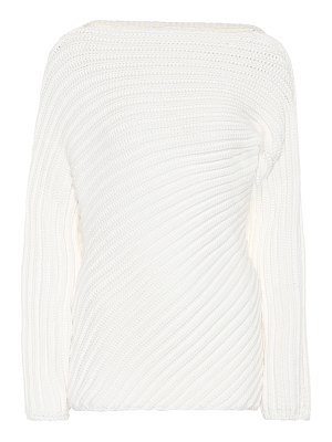 Chloé ribbed wool-blend sweater