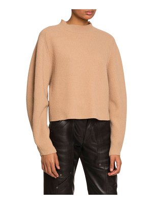 Chloe Ribbed Wool-Cashmere Sweater