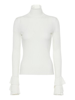 Chloe ribbed wool turtleneck sweater