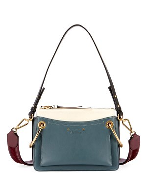 Chloe Roy Colorblock Shoulder Bag