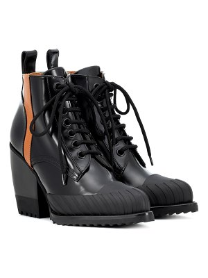 Chloe Rylee leather ankle boots