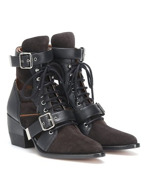 Chloe rylee suede ankle boots