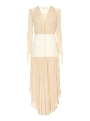 Chloe silk midi dress