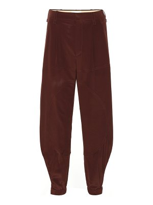 Chloe silk pants