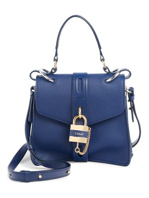 Chloe small aby leather shoulder bag
