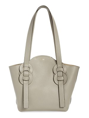 Chloe small darryl leather tote