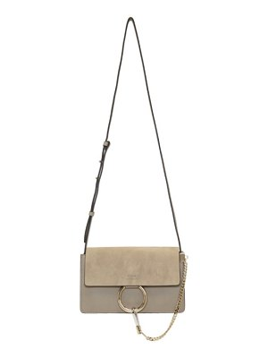 Chloe grey small faye bag