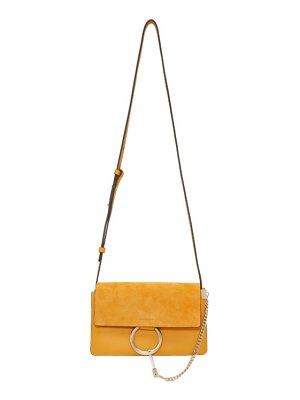 Chloe yellow small faye bag