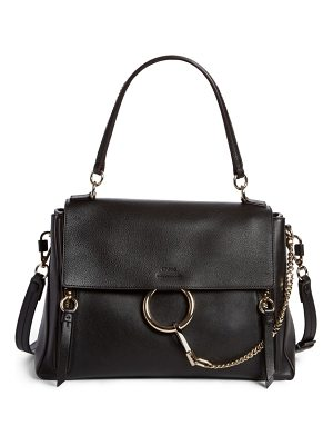 Chloe small faye day leather shoulder bag