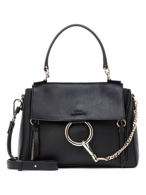 Chloe Small Faye leather shoulder bag