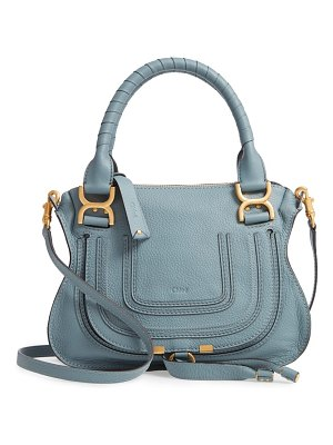 Chloe small marcie calfskin leather satchel