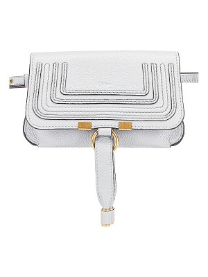 Chloe small marcie grained calfskin belt bag