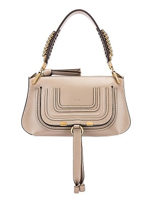 Chloe small marcie leather saddle bag