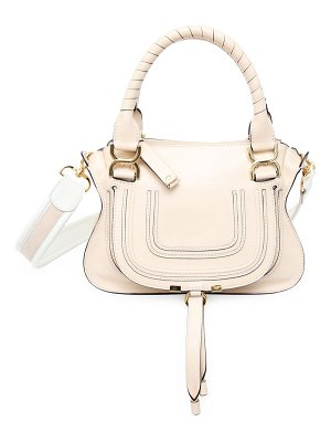 Chloe small marcie smooth leather satchel
