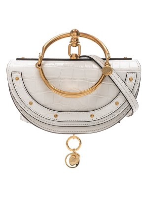 Chloe Small Nile Embossed Minaudiere