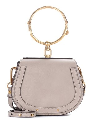 Chloe small nile leather bracelet bag