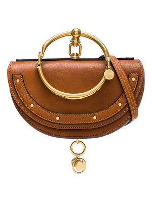 Chloe small nile leather minaudiere