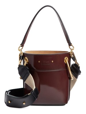Chloe small roy leather bucket bag