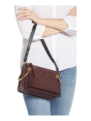 Chloe small roy leather shoulder bag