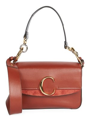 Chloe small square leather shoulder bag