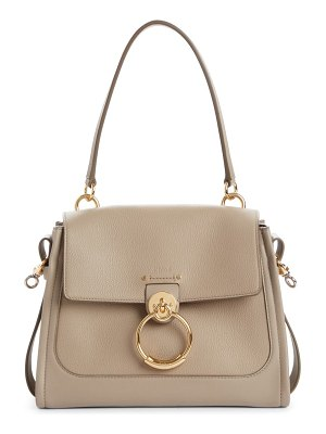 Chloe small tess leather day bag