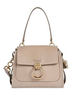 Chloe small tess leather satchel