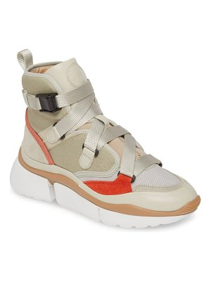 Chloe sonnie high top sneaker